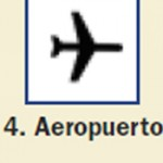 Pictograma señal de aeropuerto 4