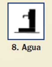 Pictograma señal de agua 8