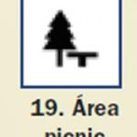Pictograma señal de area picnic 19