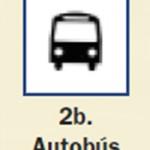 Pictograma señal de autobus 2b