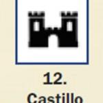 Pictograma señal de castillo 12