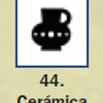 Pictograma señal de ceramica 44