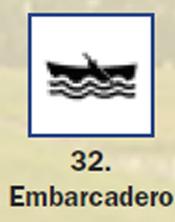 Pictograma señal de embarcadero 32