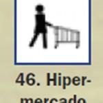 Pictograma señal de hipermercado 46