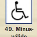 Pictograma señal de minusvalido 49
