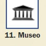 Pictograma señal de museo 11