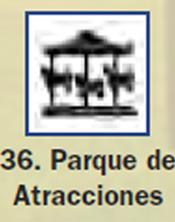 Pictograma señal de parque de atracciones 36