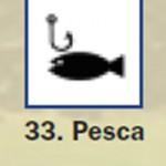 Pictograma señal de pesca 33