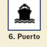 Pictograma señal de puerto 6