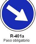 Señal R-401a paso obligatorio