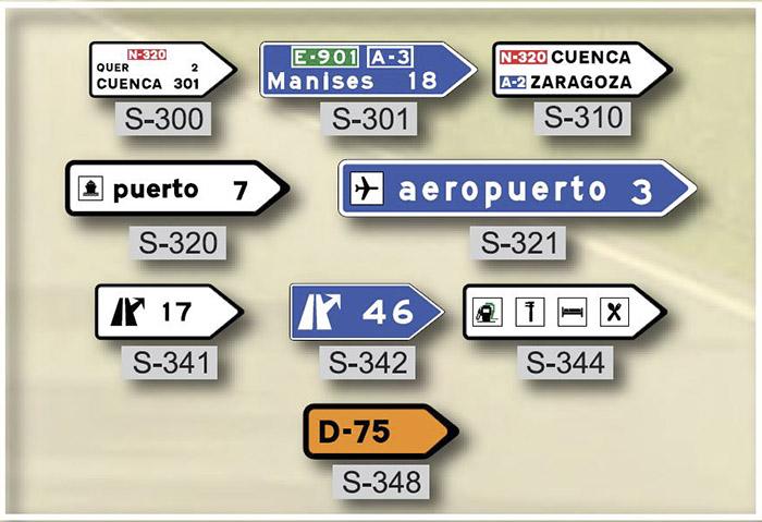 Venta de se ales direccionales tienda en madrid for Oficina trafico zaragoza