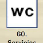 Pictograma señal de servicios 60
