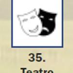 Pictograma señal de teatro 35