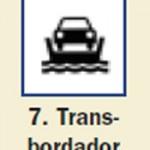 Pictograma señal de transbordador 7