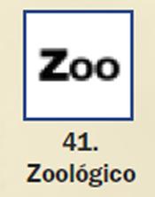 Pictograma señal de zoologico 41