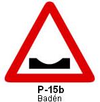 Señal P 15b baden